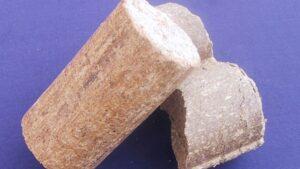 Briquettes de paille